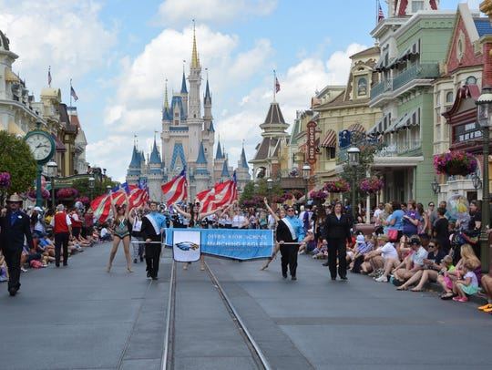 Main Street USA at the Magic Kingdom