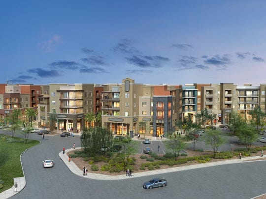 """A rendering of """"Epicenter,"""" the new urban project in"""