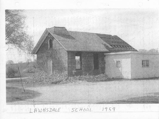 Lawnsdale School was originally built in the mid- to