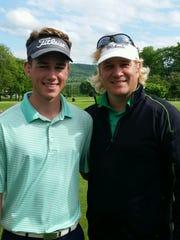 Greg and Hogan Bendert.