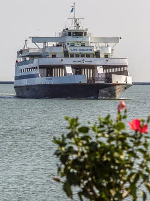 MV Cape Henlopen is one of the ferries that will be worked on thanks to a federal grant.