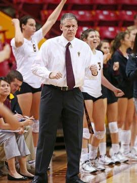 ASU volleyball coach Jason Watson is leaving to become coach at Arkansas.