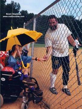 "Robert ""Bubba Bert' Mentrasti  became best friends with Mattie Stepanek, who died of muscular dystrophy in 2004."