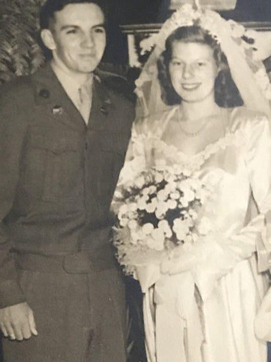 Anniversaries: Olive Collins & Donald Collins