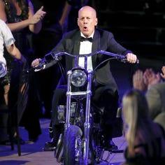 Photos: Roasters rip into Bruce Willis
