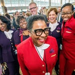 'Passport Plum?' Delta rolls out new uniforms for 64,000 frontline workers