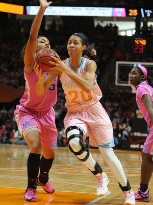 Tennessee announced Monday senior center Isabelle Harrison has a torn ACL.