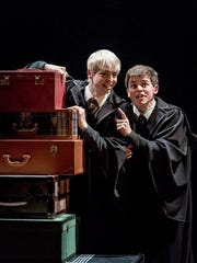 The next generation: Anthony Boyle, left, and Sam Clemmett as Scorpius Malfoy and Harry Potter in 'Harry Potter and the Cursed Child.'