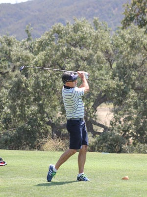 Ojai resident Robin Williams won the Soule Park Men's Golf Club title for the third straight year.