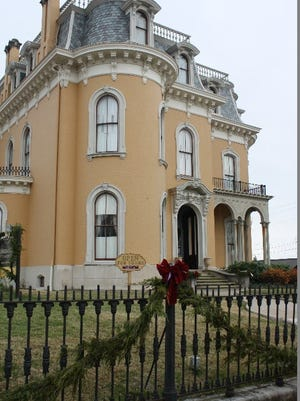 The Culbertson Mansion State Historic site in New Albany.