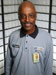 """""""My favorite part of the job is I get to serve our customers. They're the best people, and they support our local post office here,"""" said John Harris, who plans to retire from the Tupelo post office on this summer."""