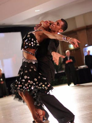 Peace, Love & Ballroom showcases professional dancers, a buffet dinner, classes and a party Saturday at  the Marriot Resort, Hutchison Island in Stuart.
