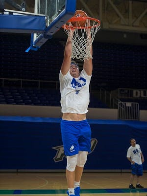 FGCU junior center Ricky Doyle is expected to make a huge impact in his upcoming first Eagles season.