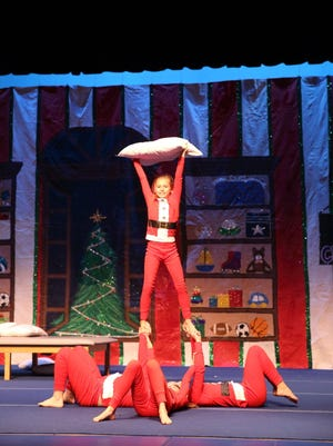 Annabelle Richards and the Spotlights perform in the 2016 Vero Beach Recreation Department holiday production.