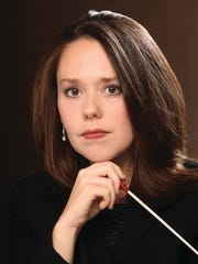 Conductor Kelly Corcoran joins the York Symphony Orchestra for April in Paris, April 7.