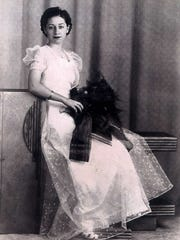 Mary Viviano Tower, 94, saved this photo of herself taken in 1938 when she graduated from Bolton High School.