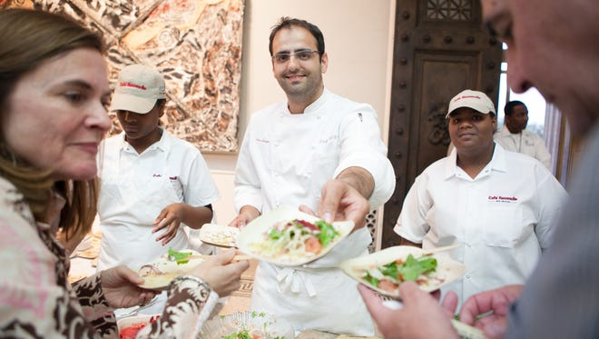 Chef Alon Shaya  of Domenica recently opened a new restaurant in New Orleans called Shaya.