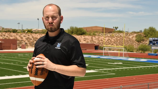 New Fountain Hills football coach Jason Henslin.