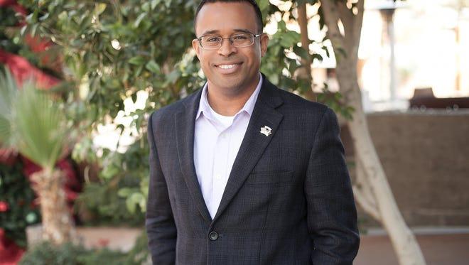 Moses Sanchez, 40, is running for mayor of Phoenix