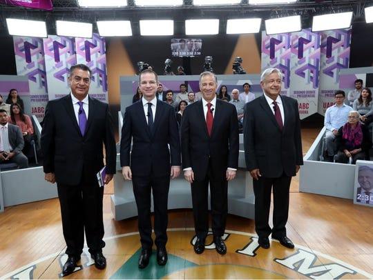 Los 4 candidatos se verán las caras por última vez antes de la elección.