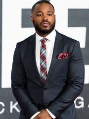 "Director Ryan Coogler attends the European premiere of ""Creed"" at the Empire cinema, Leicester Square , Jan.12, 2016, in London.."