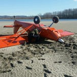 Small plane crashes into Columbia River, no injuries
