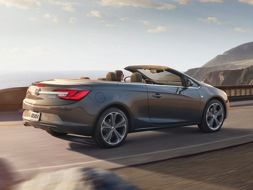 Buick Cascada Convertible goes on sale early in 2016.