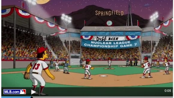 The Simpsons is being used in promo spots for the World