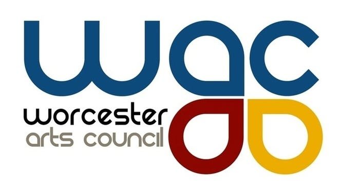 The current logo for the Worcester Arts Council.