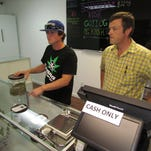 Home Grown Remedies opened in downtown Stayton on Thursday, Oct. 1, the first day that Oregon allowed dispensaries to sell recreational marijuana.