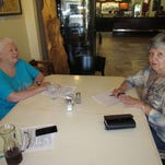 Maia Hardy, who is a community and business outreach representative from Community LendingWorks, joined the Canyon Conversations on Wednesday, July 27, at Moxieberry in downtown Stayton.
