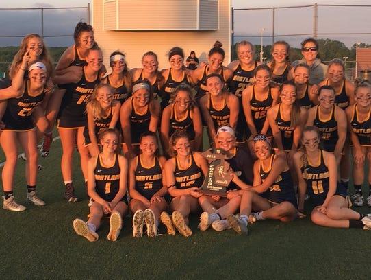Hartland celebrates a seventh straight regional lacrosse
