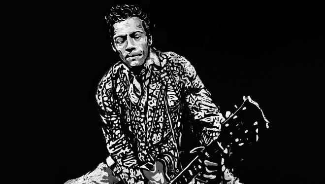 """CHUCK"" by Chuck Berry."