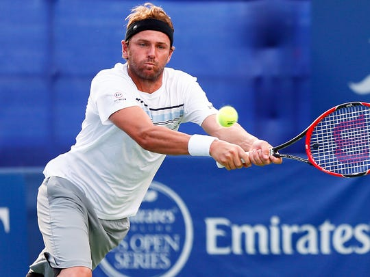 Mardy Fish was once the top-ranked American tennis player, passing up his pal, Andy Roddick.