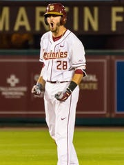Florida State junior third baseman Dylan Busby has