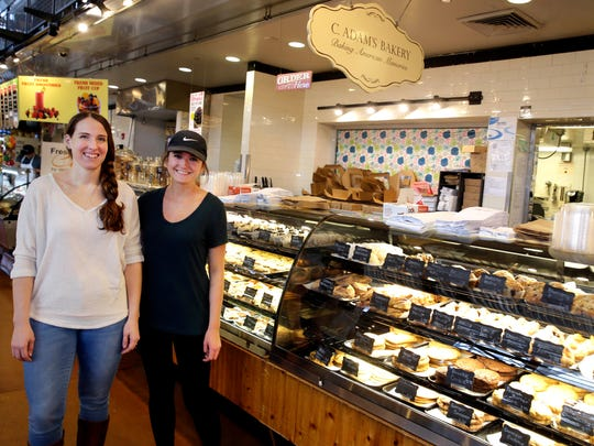 Julia Block (left) and Chelsea Zwieg owners of C. Adam's Bakery in the Milwaukee Public Market, 400 N. Water St. are planning a sister store (Black Twig) bakery in Wauwatosa.