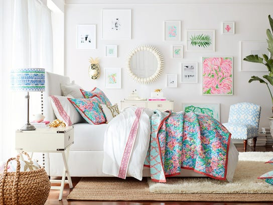 Welcome Mat Pottery Barn Lilly Pulitzer Team Up