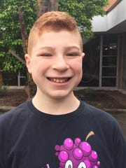 Jordan Kleinman, 12, of Nanuet, is preparing for his