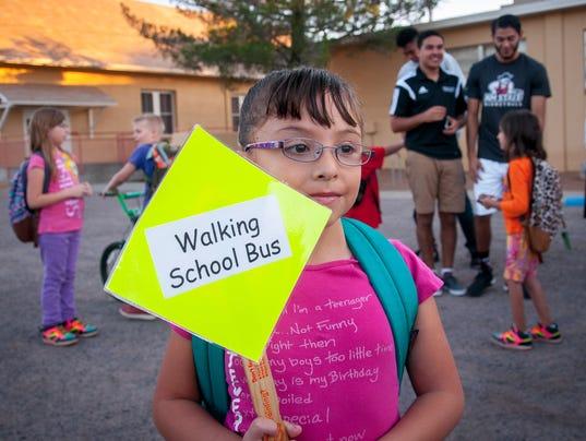 Children Walk to School Day 2