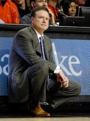USP NCAA Basketball_ Kansas at Oklahoma State
