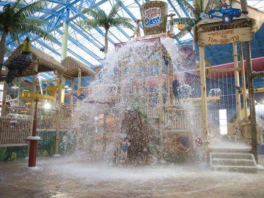Splash your way into 2018 at Sahara Sam's.