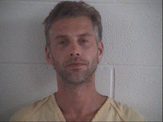 Shawn Grate's Sept. 13, 2016 arrest photo in Ashland.