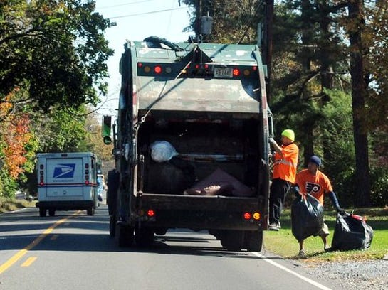 File photo of waste collection