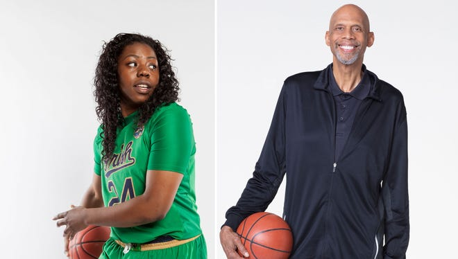 "Arike Ogunbowale and Kareem Abdul-Jabbar will be on the 26th season of ""Dancing With The Stars."""
