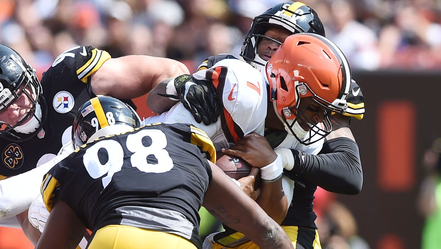 report ryan shazier fined 25k for hit on browns qb deshone kizer