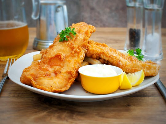 Fried fish is a popular dish in the weeks leading up to Easter.