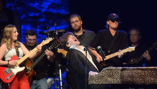 Rob Haynes on stage during the 2014 James Burton International Guitar Festival Saturday Aug. 23, 2014 at the Municipal Auditorium in Shreveport, Louisiana.
