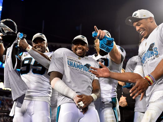 The Carolina Panthers are headed to Super Bowl 50,