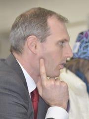 Burlington School District Director of Finance Nathan