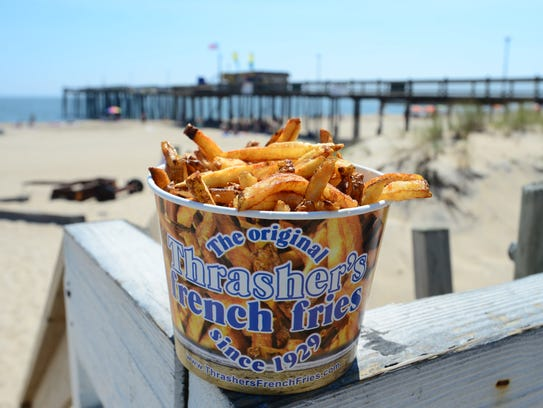 The famous Thrasher's French fries has been in business